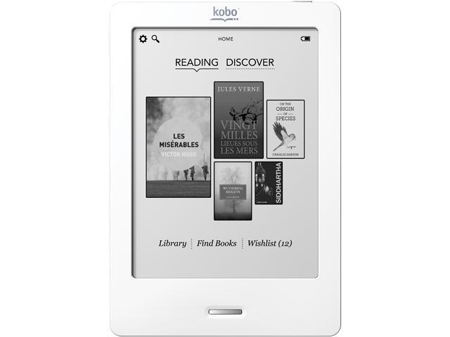 Kobo eReader Touch Edition, Blue - N905-KBO-S E-Book Readers