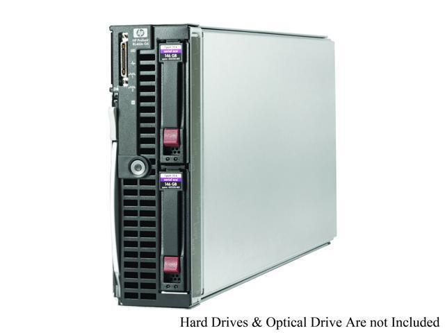 HP ProLiant BL460c Intel Xeon E5450 3 00 GHz 2GB DDR2 Blade Server  (459483-B21) Intel Xeon E5450 (4 core, 3 00 GHz) 2GB (2 x 1GB) FBD DDR2-667