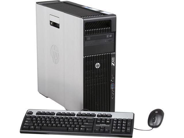 HP Z620 Workstation Rackable minitower Server System Intel Xeon E5-2620  2GHz 6C/12T 6GB DDR3 500GB 7200 rpm SATA NCQ Windows 7 Professional 64