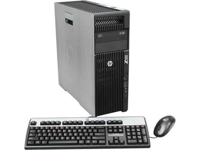 HP Z620 Workstation Rackable minitower Server System Intel Xeon E5-2620  2GHz 6C/12T 4GB DDR3 500GB 7200 rpm SATA NCQ Windows 7 Professional 64