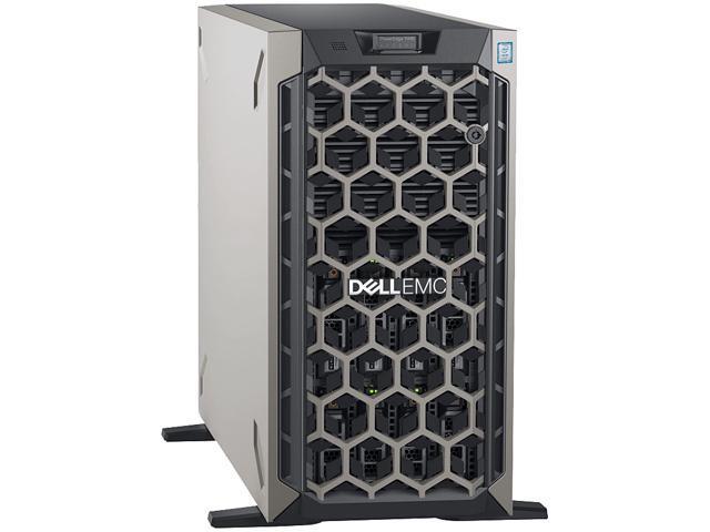 Dell EMC PowerEdge T440 5U Tower Server - 2 x Intel Xeon Silver 4110  Octa-core (8 Core) 2 10 GHz - 32 GB Installed DDR4 SDRAM - 1 TB (1 x 1 TB)  Serial