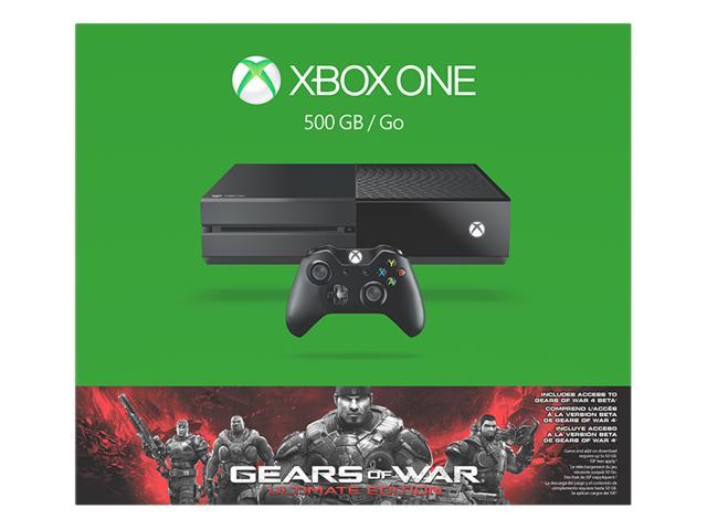Xbox One 500GB Gears of War: Ultimate Edition Console Bundle - Newegg com