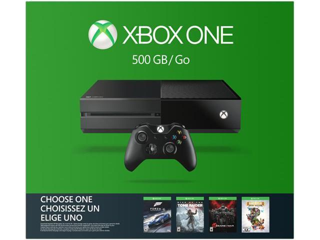 Xbox One 500GB Name Your Game Console Bundle - Newegg com