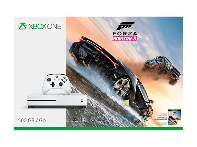 Open Box: Xbox One S 500GB Console - Forza Horizon 3 Bundle - Newegg com