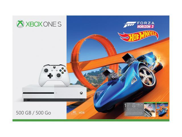 Xbox One S 500GB - Forza Horizon 3 Hot Wheels Bundle - Newegg com