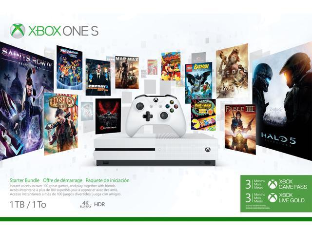 Open Box: Xbox One S 1TB Starter Console Xbox One Systems