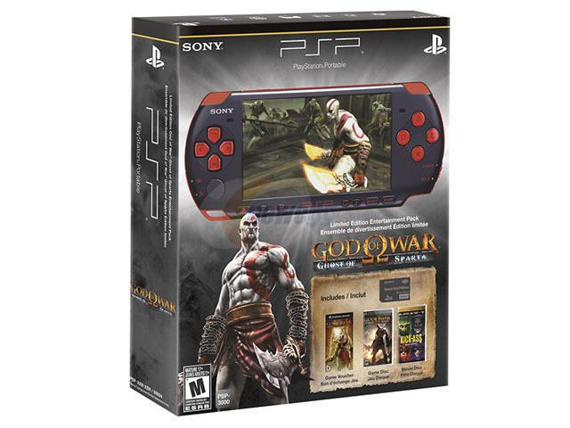 SONY PSP God of War Ghost of Sparta Entertainment Pack - Newegg com