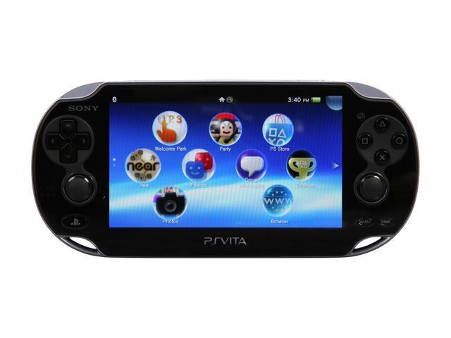 Sony Psvita System W Wi Fi Black Newegg Com