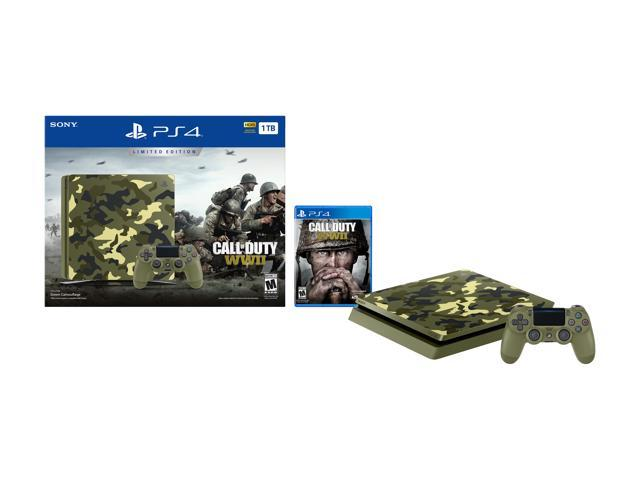 PlayStation 4 Slim 1TB Console - Call of Duty WWII Limited Edition -  Newegg com