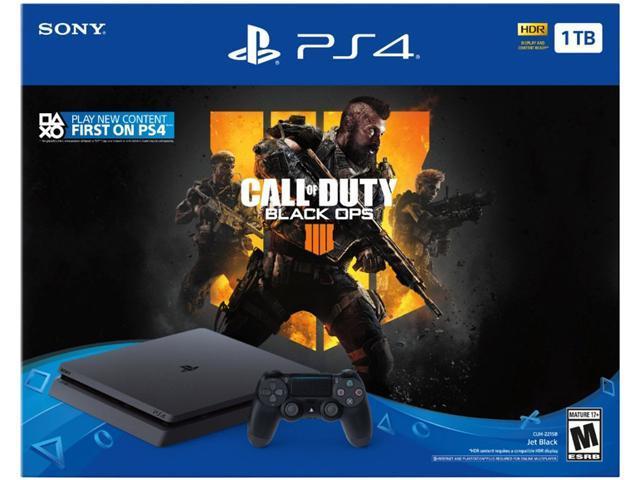 PlayStation 4 Slim 1TB Console - Call of Duty: Black Ops 4 Bundle -  Newegg com