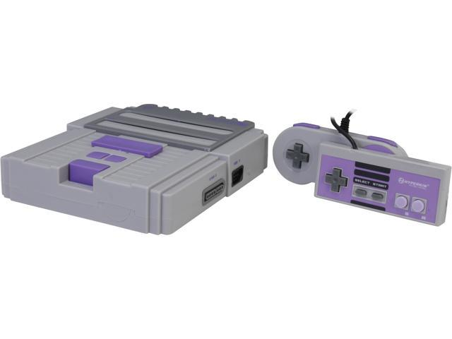 Gray Hyperkin RetroN 2 Gaming Console for SNES NES Spiele
