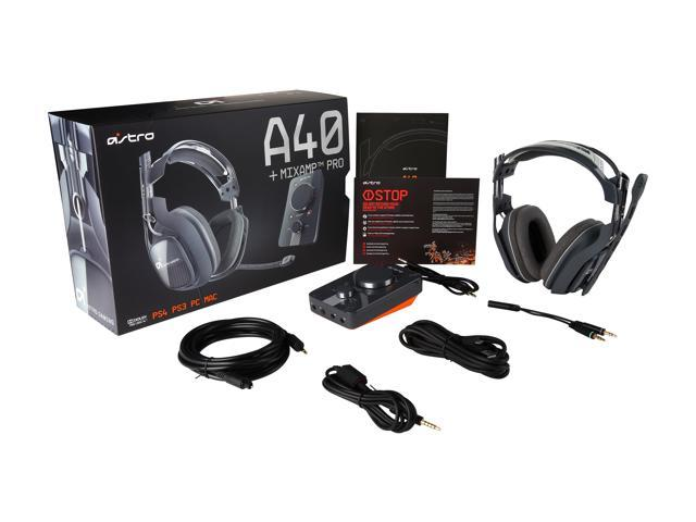 Astro Gaming Circumaural A40 Wired Dolby 7 1 Surround Sound Gaming Headset  - Newegg com