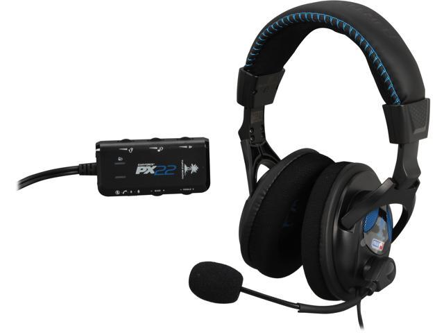 93e3589ba11 Turtle Beach PX22 (TBS-3230-01) amplified universal gaming headset for PS3