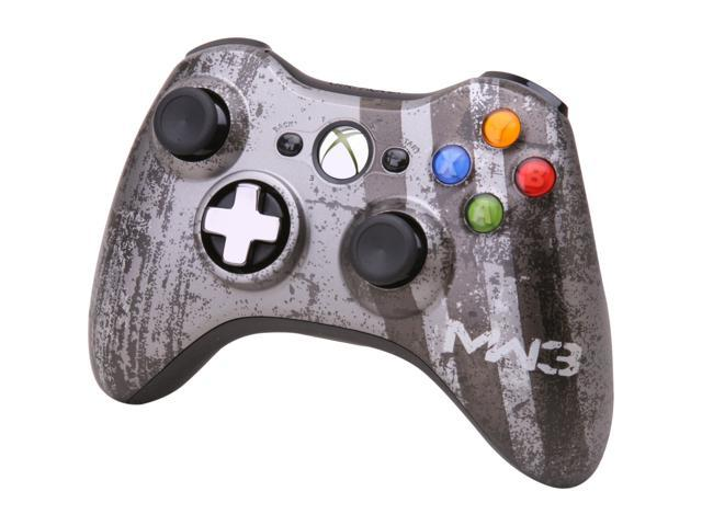 Microsoft Xbox 360 Call Of Duty Modern Warfare 3 Limited Edition Wireless Controller Newegg Com