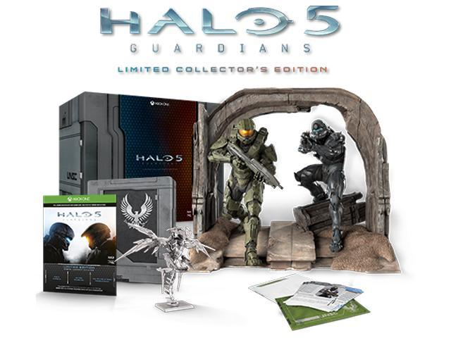 Halo 5: Guardians Limited Collector's Edition - Xbox One - Newegg com