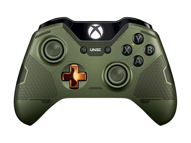Microsoft Xbox One Limited Edition Halo 5: Guardians - The Master Chief  Wireless Controller - Newegg com