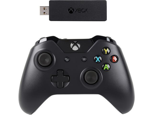Microsoft Xbox One Controller + Wireless Adapter for Windows 10 - Newegg com