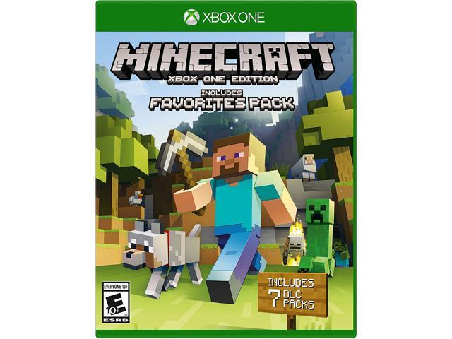7a93dd8aae4ab Minecraft Favorites Pack - Xbox One - Newegg.com