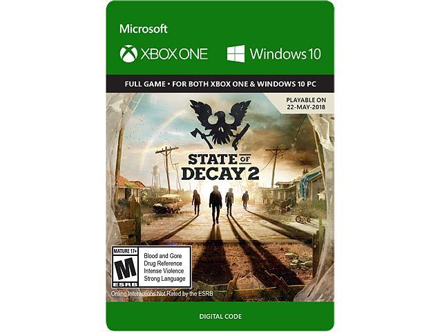 State Of Decay 2 Xbox One Windows 10 Digital Code