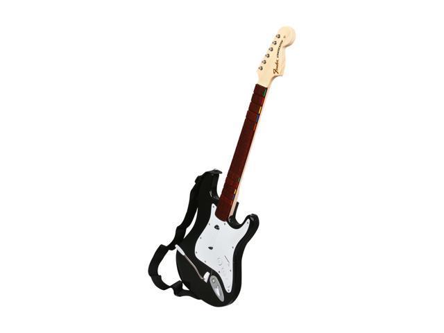 MADCATZ X360 Rock Band 3 Wireless Fender Stratocaster Guitar Black -  Newegg com