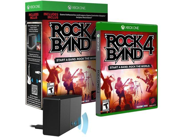 Rock Band 4 with Legacy Game Controller Adapter - Xbox One - Newegg com