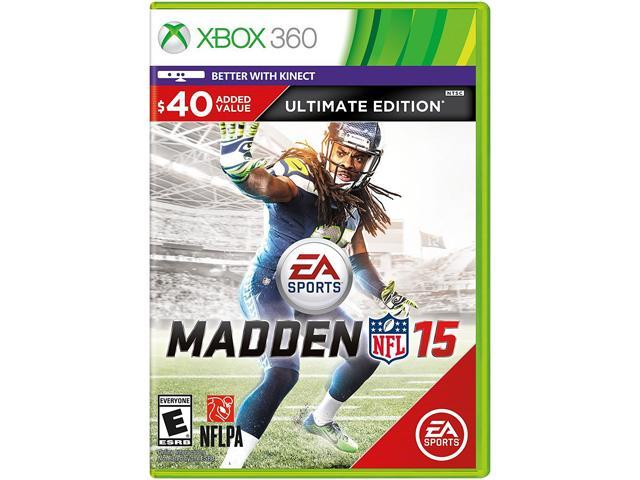 Madden NFL 15 Ultimate Edition Xbox 360 - Newegg com