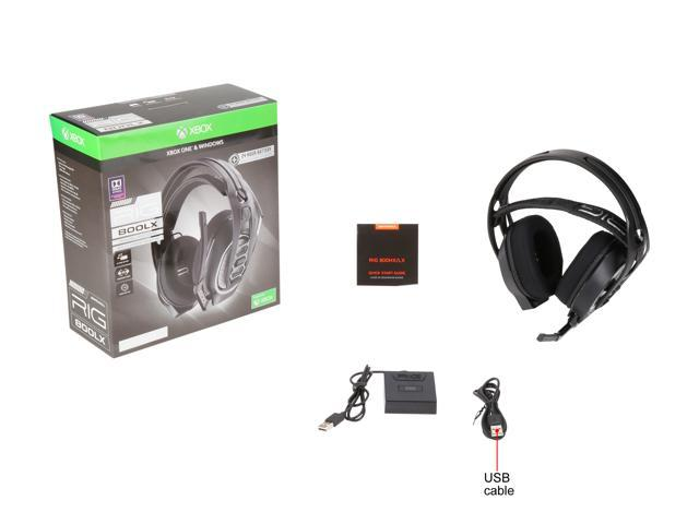 RIG 800LX SE Wireless Gaming Headset with Dolby Atmos for Xbox One -  Newegg com