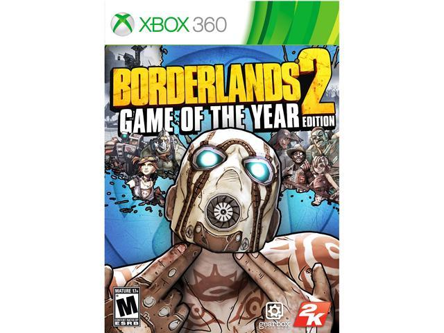 Borderlands 2: Game of the Year Edition Xbox 360 Game - Newegg com