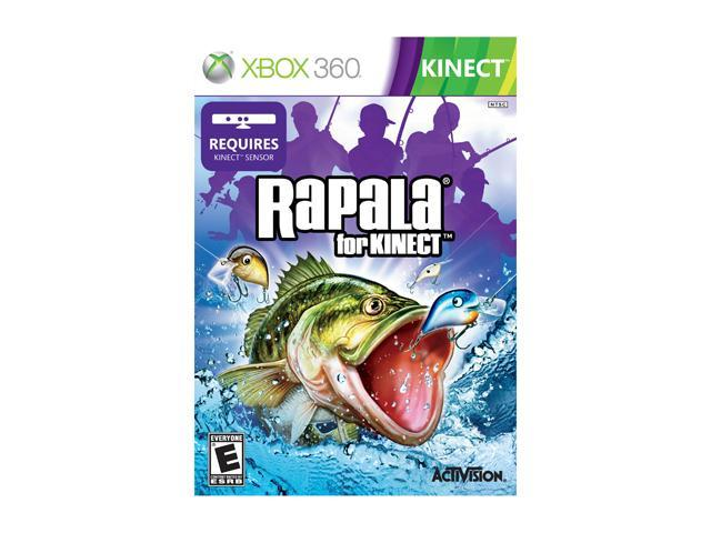 Rapala for kinect (2011) xbox 360 box cover art mobygames.