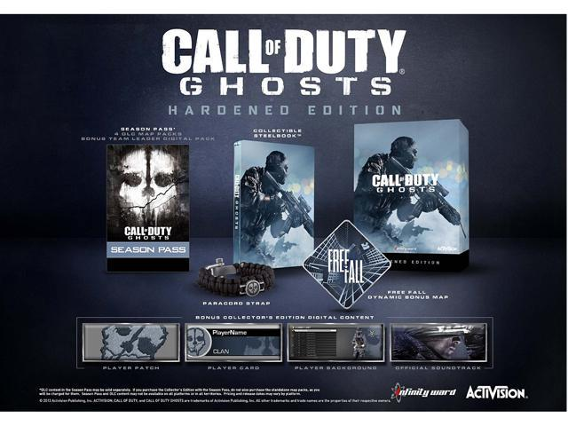 Activision call of duty: ghosts hardened edition (xbox 360.