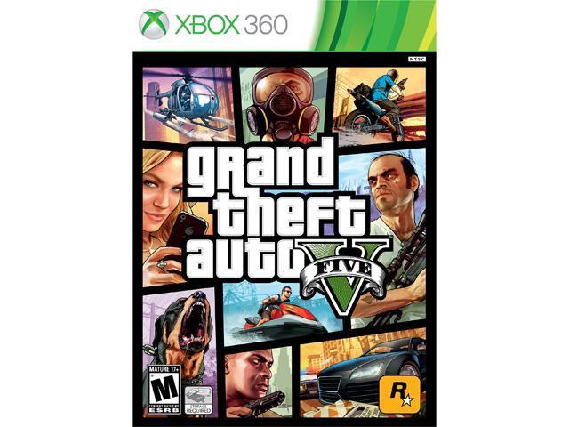 Grand Theft Auto V Xbox 360 Game - Newegg com