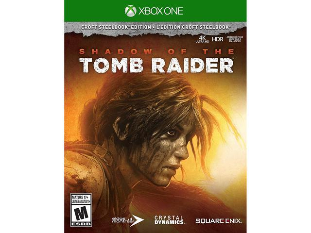 Shadow of the Tomb Raider Croft Steelbook Edition - Xbox One - Newegg com