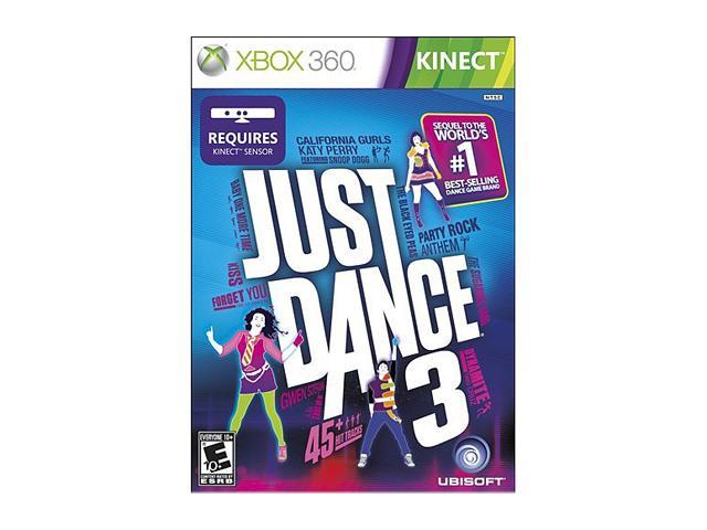 Just dance 3 xbox 360 requires kinect case disc manual family.
