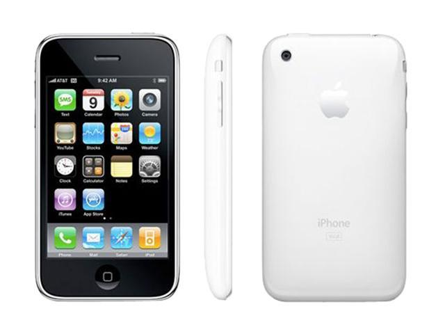 apple iphone 3gs 16gb white for at t service only mb716ll a rh newegg com iPhone 2G iPhone 1