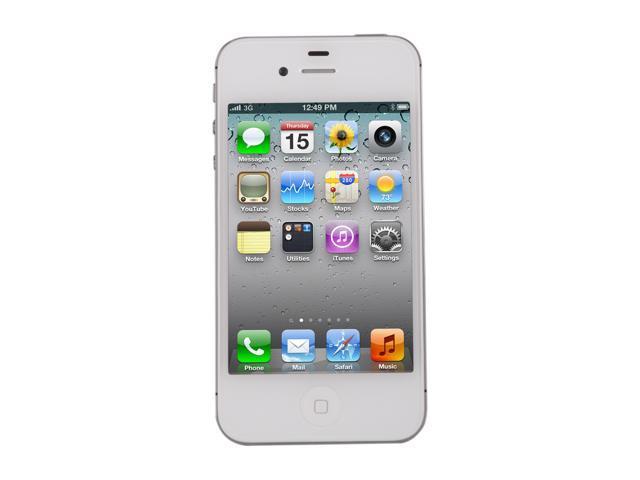 9ac34cfa5cd Refurbished: Apple iPhone 4S 16GB MC920LL/A Cell Phone w/ 8 MP ...