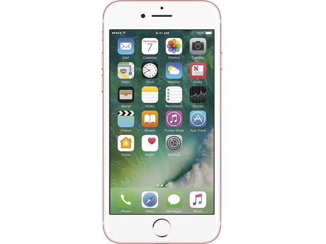 "Apple iPhone 7 4G LTE Unlocked Cell Phone 4.7"" Rose Gold 128GB 2GB RAM"
