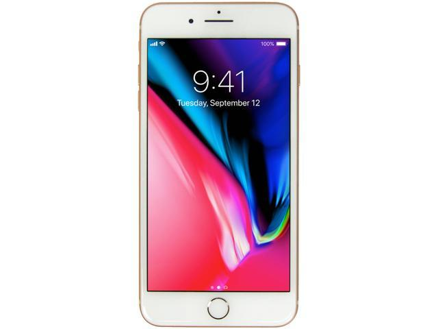 Refurbished: Apple iPhone 8 Plus A1897 MQ922LL/A 4G LTE Unlocked Cell Phone  A GRADE 5 5