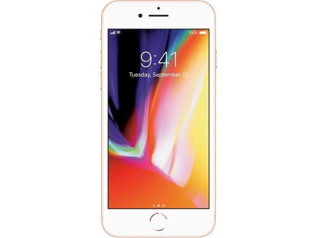 "Apple iPhone 8 4G LTE Unlocked GSM Phone w/ 12 MP Camera 4.7"" Gold 64GB 2GB RAM"