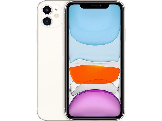Apple iPhone 11 MWJF2LL/A A13 Bionic, 4GB, 64GB, 6.1inch, iOS, A GRADE, White (Unlocked) Refurbished