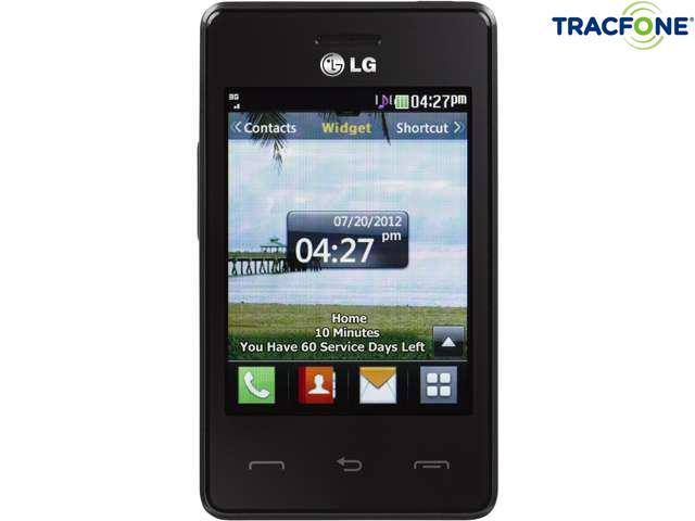 LG 840G Tracfone Cell Phone with Tracfone 1200 Minute (400 Minute Airtime  Card) & Triple Minutes for Life - Newegg com
