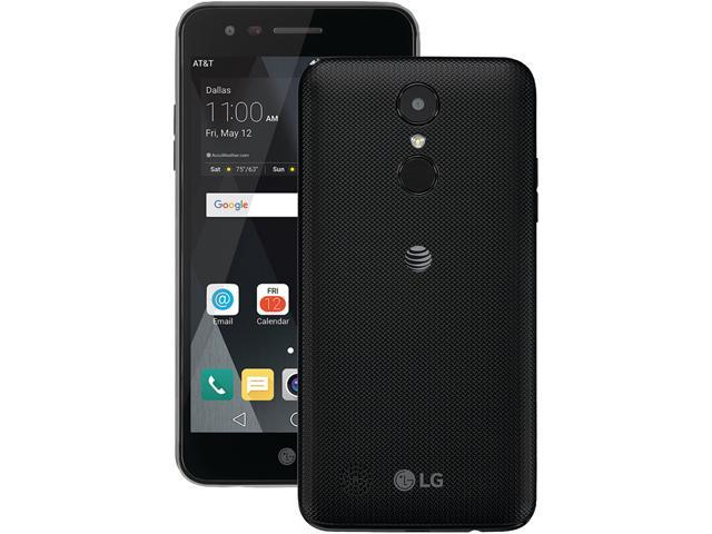 AT&T GoPhone - LG Phoenix 3 Cell Phone - Black - Newegg com