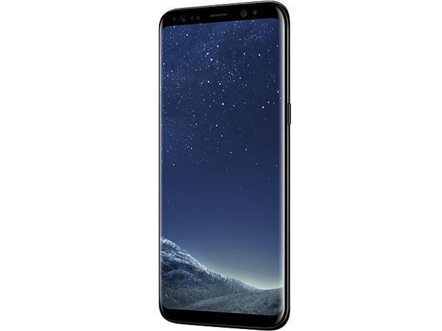 "Samsung Galaxy S8 G950F Single SIM Unlocked Smart Phone, 5.8"" AMOLED Display, Midnight Black Color, 64GB Storage International Version - No Warranty"