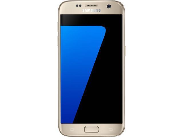 44852713e912be Samsung Galaxy S7 G930T 32GB T-Mobile Unlocked 4G LTE Quad-Core Phone w/ 12  MP Camera - Gold (Refurbished) Grade B