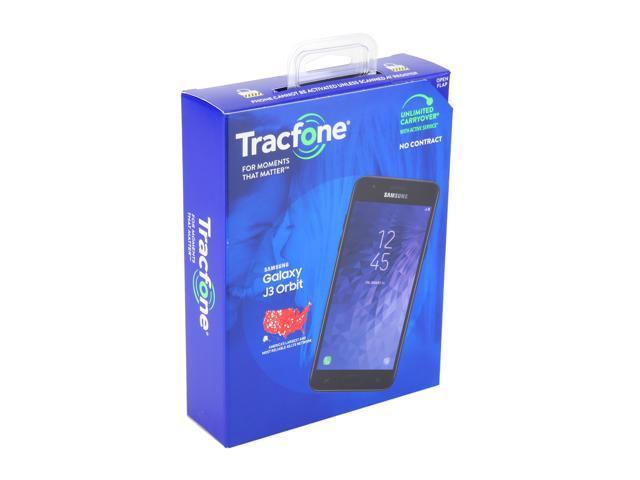 Samsung Galaxy J3 Orbit S367 TracFone Prepaid Cell Phone - Newegg com