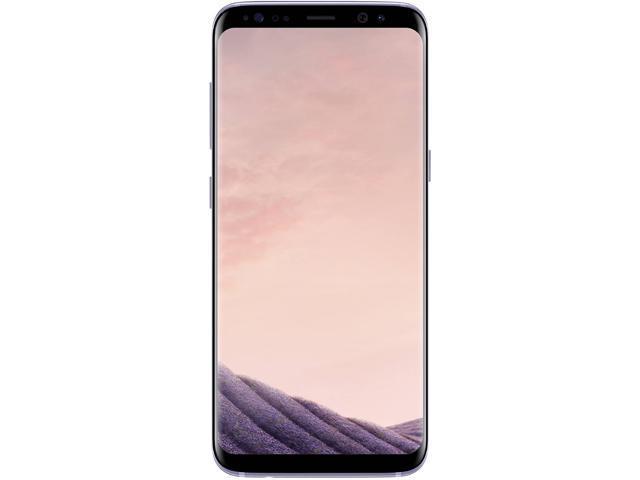 "Samsung Galaxy S8 G950U 4G LTE Unlocked GSM U.S. Version Phone - w/ 12 MP Camera 5.8"" Orchid Gray 64GB 4GB RAM"