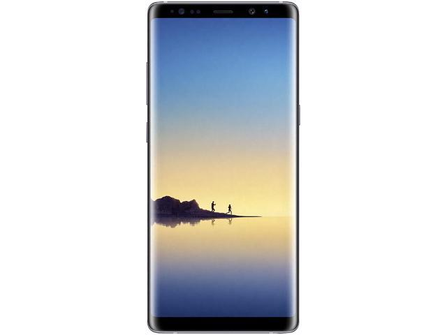 "Samsung Galaxy Note 8 N950U 4G LTE Unlocked GSM LTE Android Phone w/ Dual 12 Megapixel Camera - (Used) 6.3"" Orchid Gray 64GB 6GB RAM"