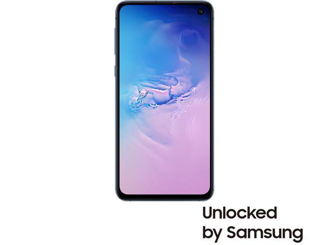 "Samsung Galaxy S10e 4G LTE Unlocked Cell Phone 5.8"" Infinity Display Prism Blue 128GB 6GB RAM"