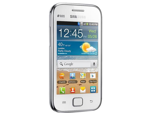 Samsung Galaxy Ace Duos S6802 Unlocked Cell Phone 3 5