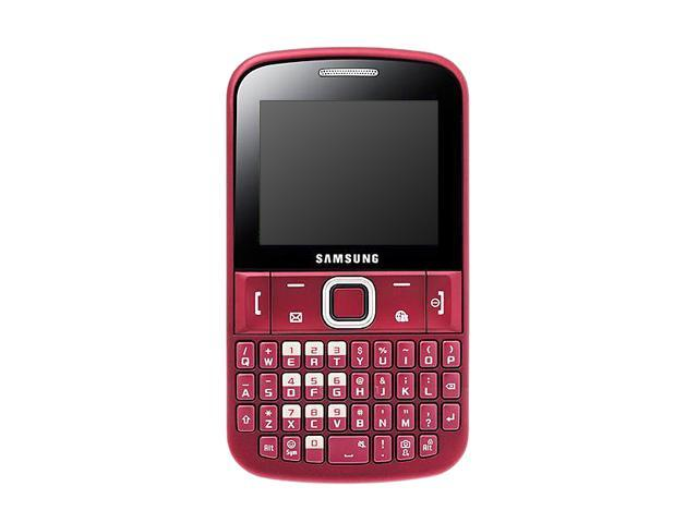 samsung ch t 220 gt e2220 2g unlocked cell phone 2 2 red 47 mb rh newegg com Samsung Refrigerator Manual Samsung M340