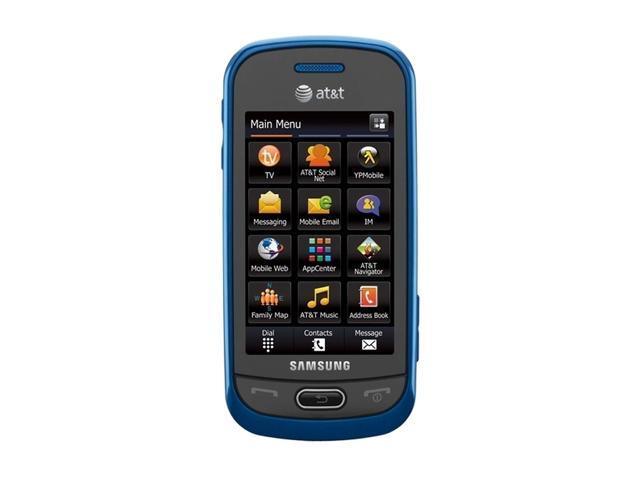 samsung eternity ii sgh a597 unlocked cell phone 3 0 blue 256 mb rh newegg com